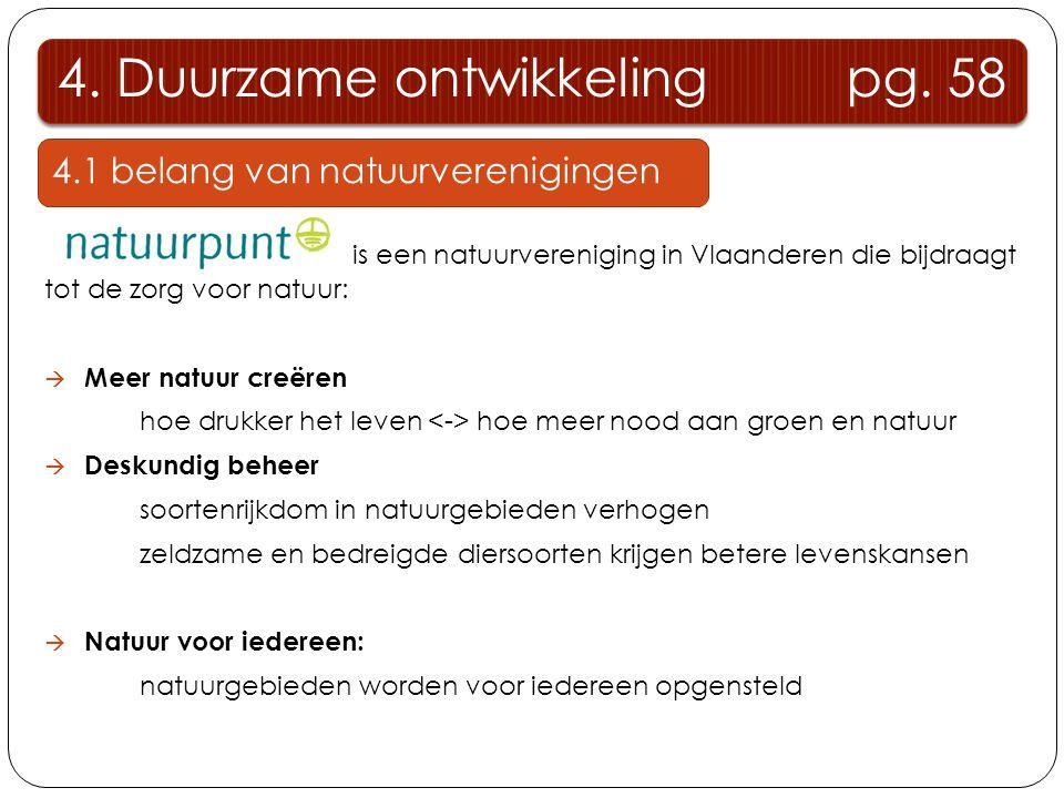 4. Duurzame ontwikkeling pg. 58