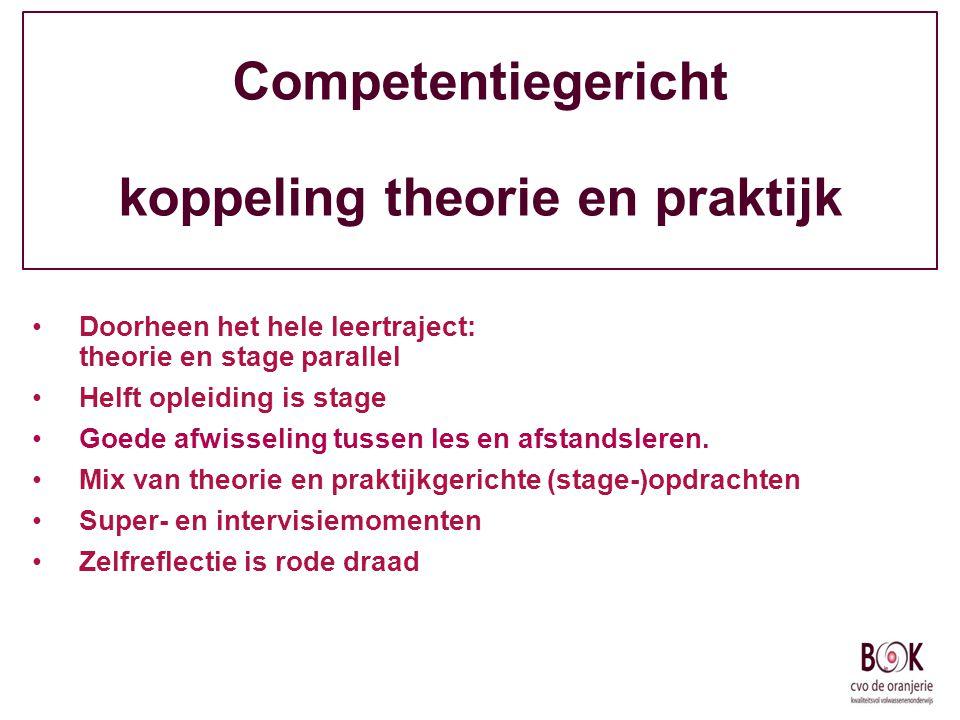 Competentiegericht koppeling theorie en praktijk