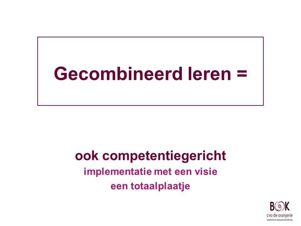 ook competentiegericht implementatie met een visie een totaalplaatje