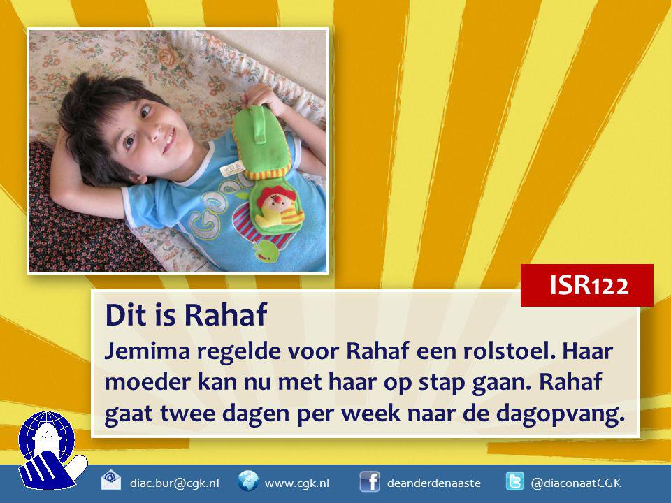ISR122 Dit is Rahaf.