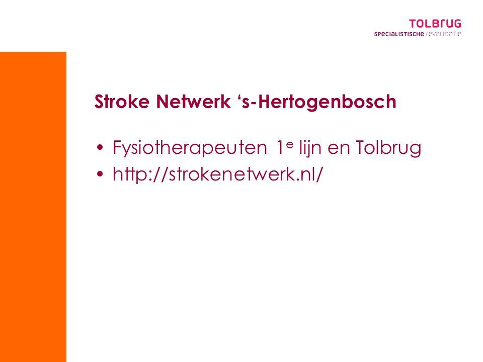 Stroke Netwerk 's-Hertogenbosch