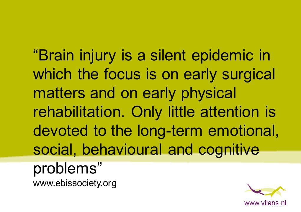 Brain injury is a silent epidemic in