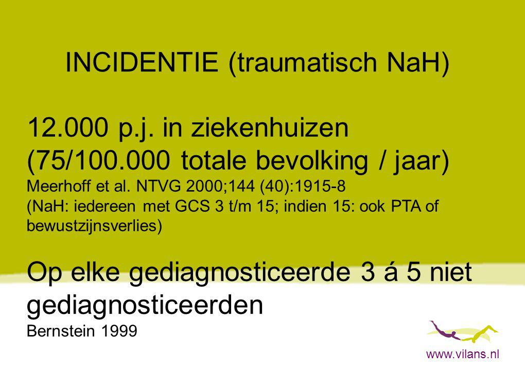 INCIDENTIE (traumatisch NaH)