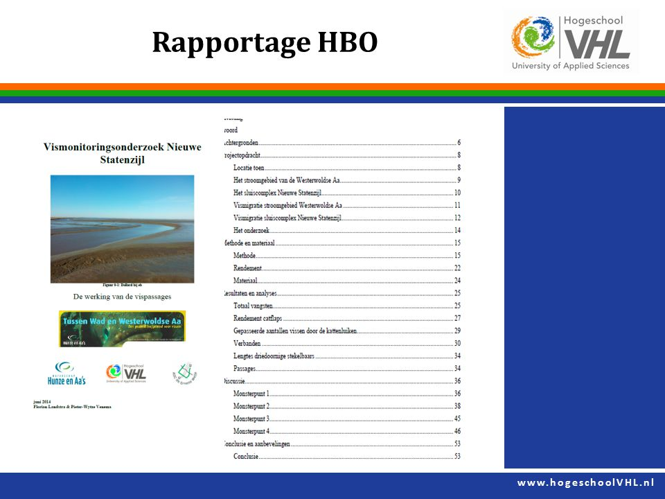 Rapportage HBO
