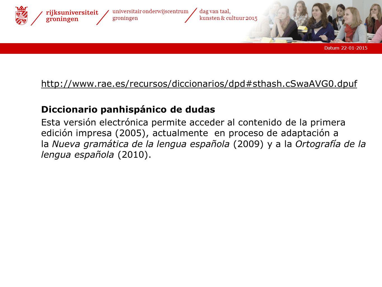 http://www.rae.es/recursos/diccionarios/dpd#sthash.cSwaAVG0.dpuf Diccionario panhispánico de dudas.