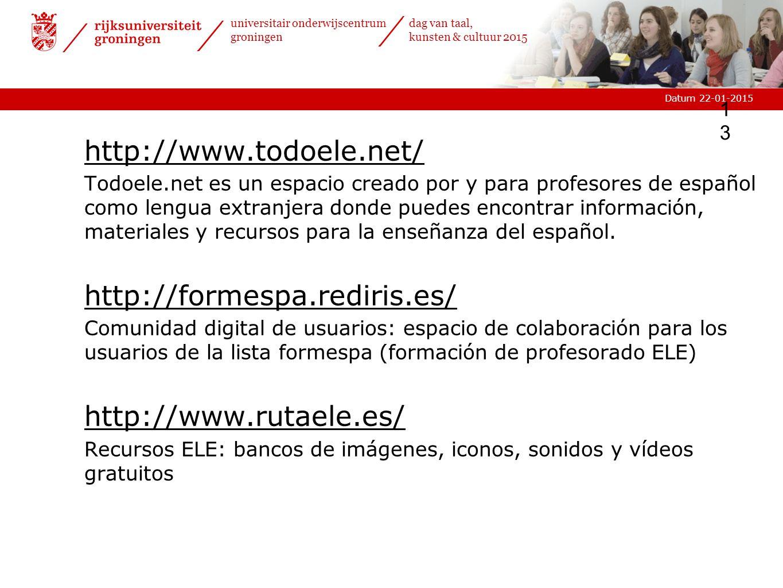 http://www.todoele.net/ http://formespa.rediris.es/