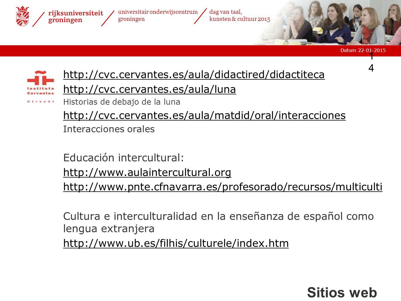 Sitios web http://cvc.cervantes.es/aula/didactired/didactiteca