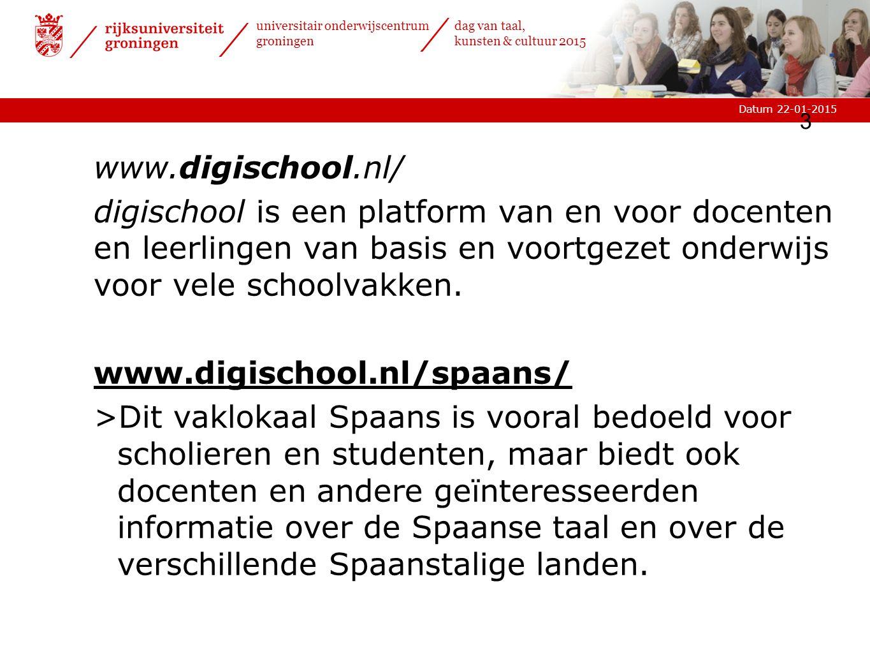www.digischool.nl/ digischool is een platform van en voor docenten en leerlingen van basis en voortgezet onderwijs voor vele schoolvakken.