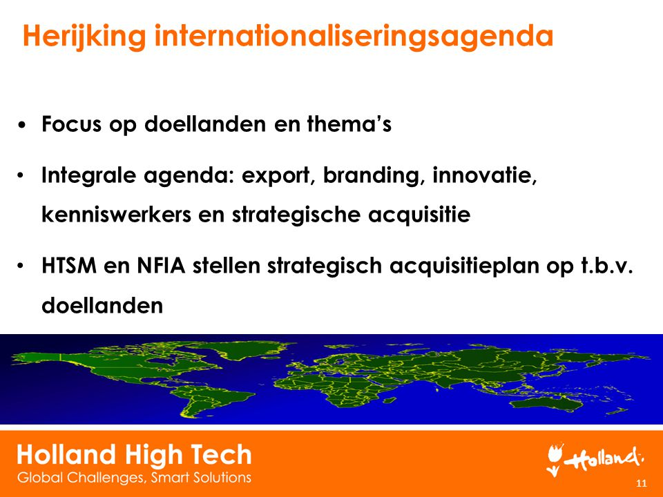 Herijking internationaliseringsagenda