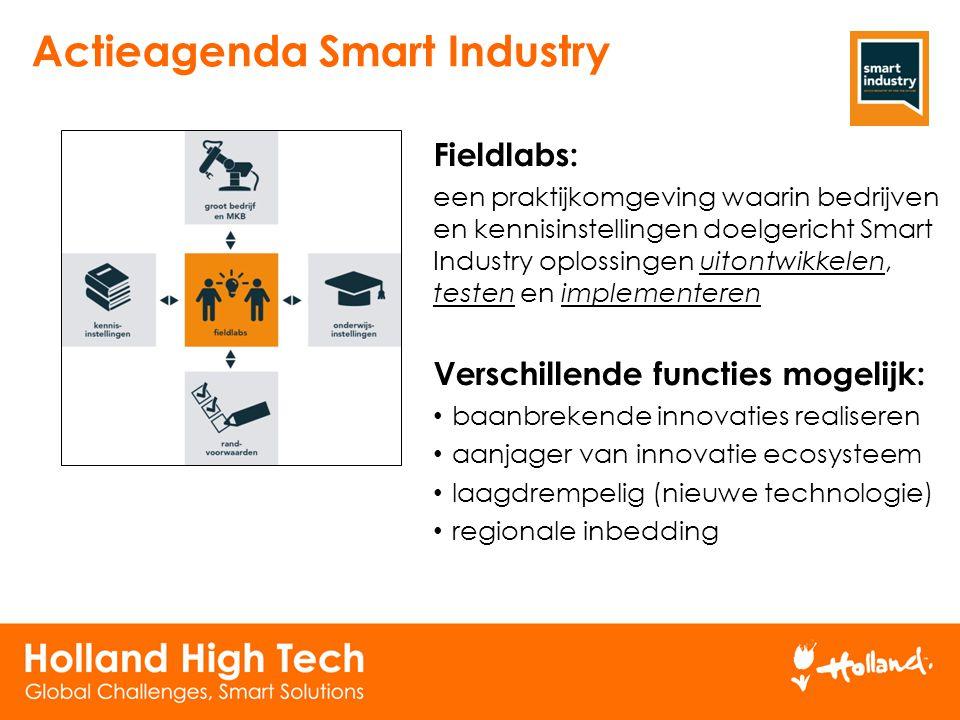 Actieagenda Smart Industry