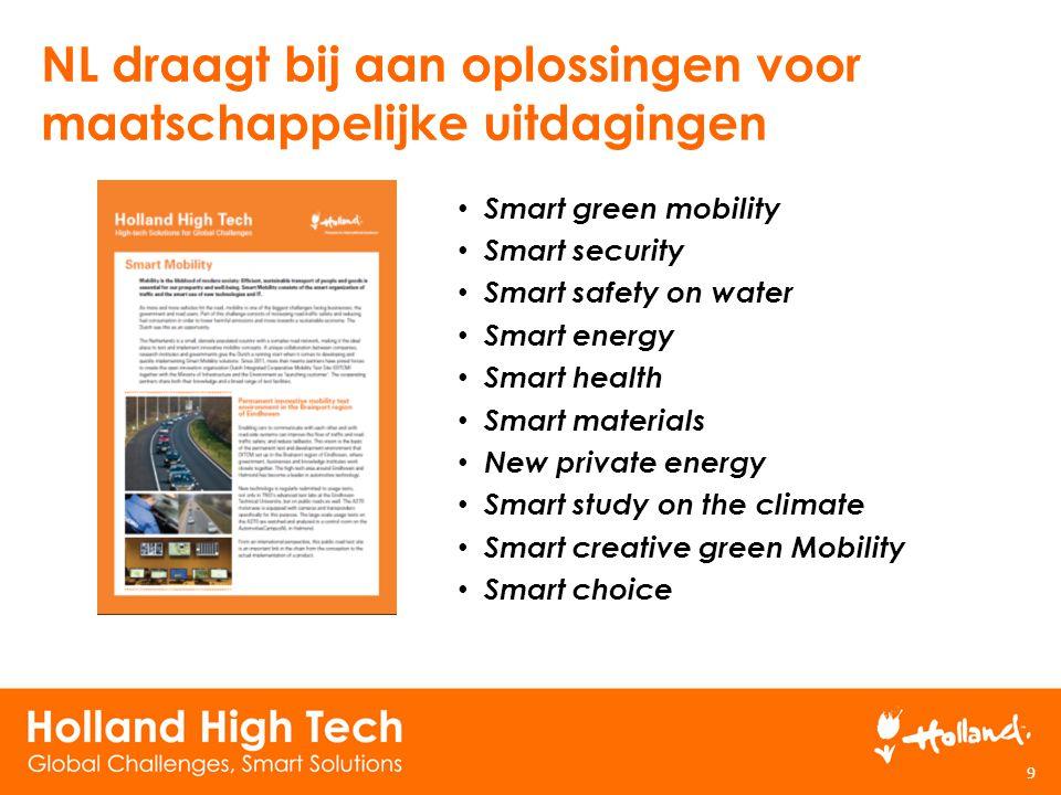 NL draagt bij aan oplossingen voor maatschappelijke uitdagingen