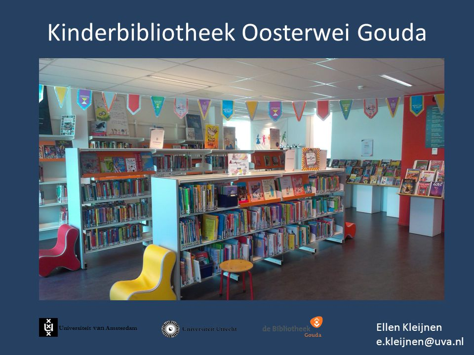 Kinderbibliotheek Oosterwei Gouda