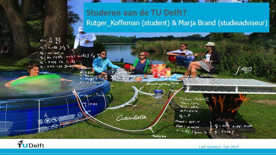 Studeren aan de TU Delft n