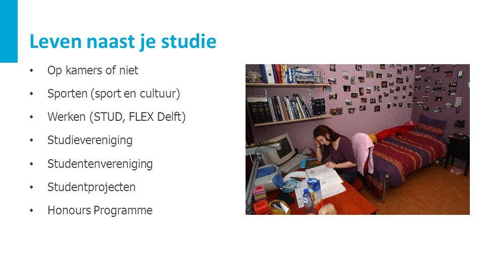 Leven naast je studie Op kamers of niet Sporten (sport en cultuur)