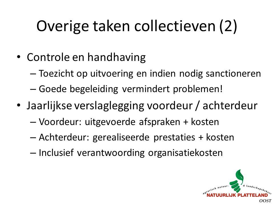Overige taken collectieven (2)