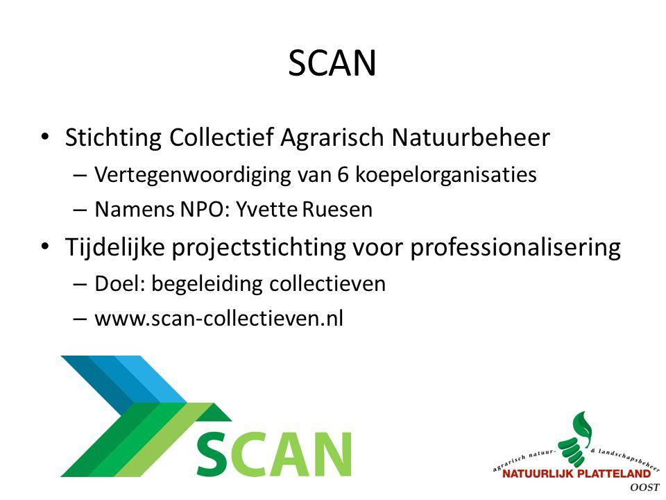 SCAN Stichting Collectief Agrarisch Natuurbeheer
