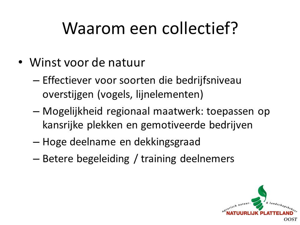 Waarom een collectief Winst voor de natuur