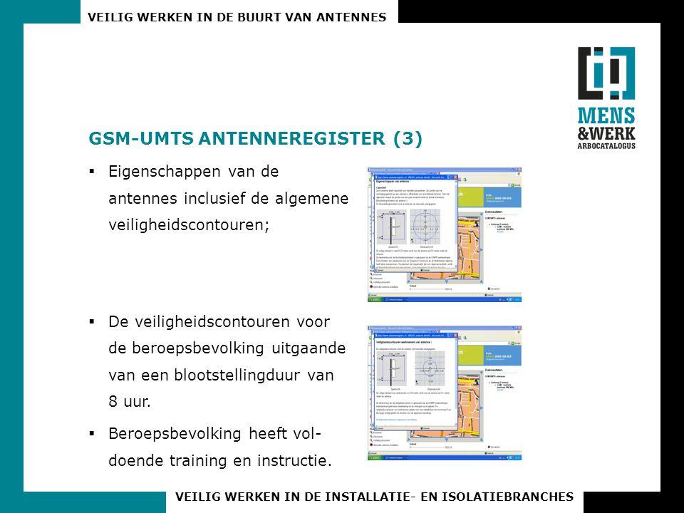 GSM-UMTS ANTENNEREGISTER (3)