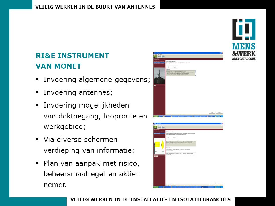RI&E INSTRUMENT VAN MONET