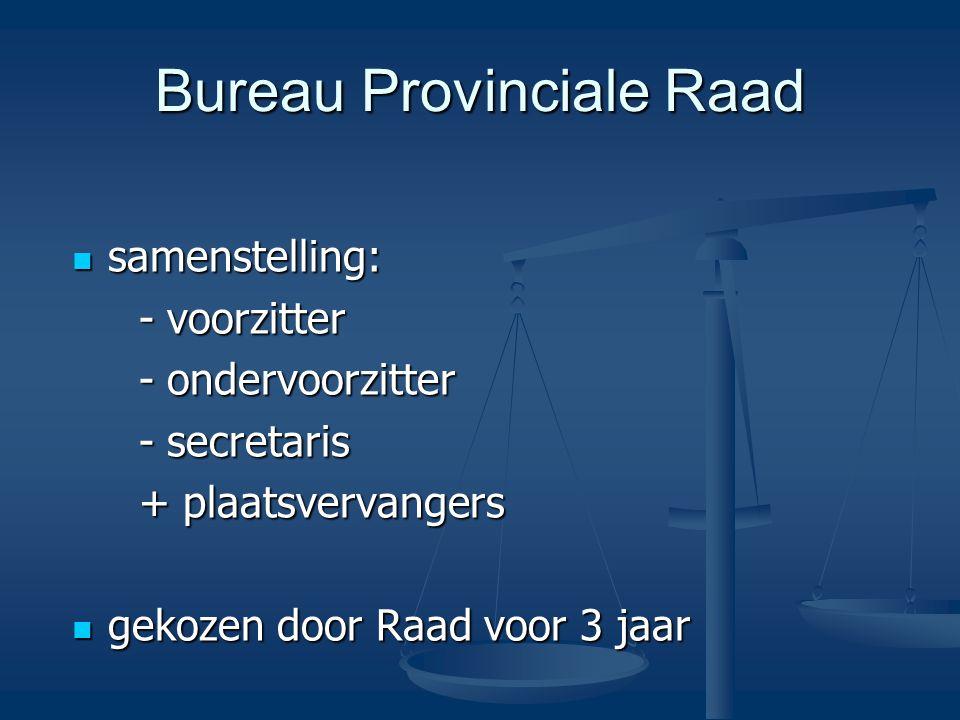Bureau Provinciale Raad