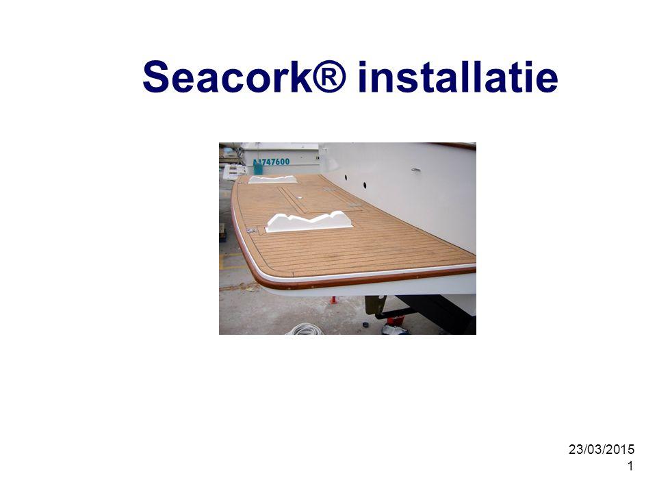 Seacork® installatie 08/04/2017