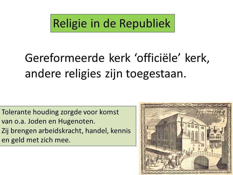Religie in de Republiek