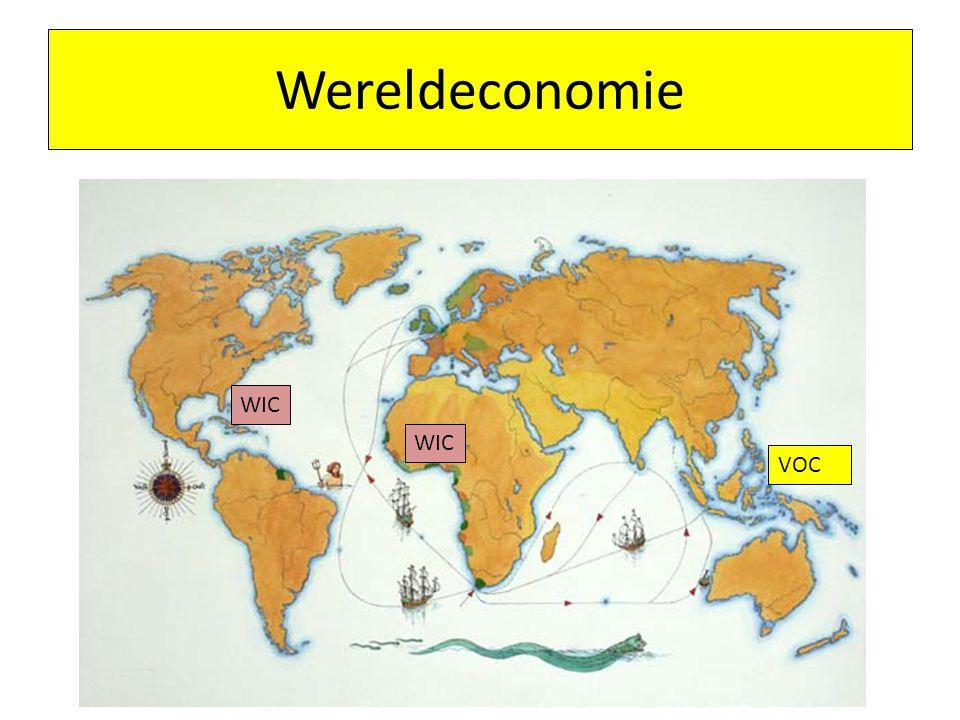 Wereldeconomie WIC WIC VOC