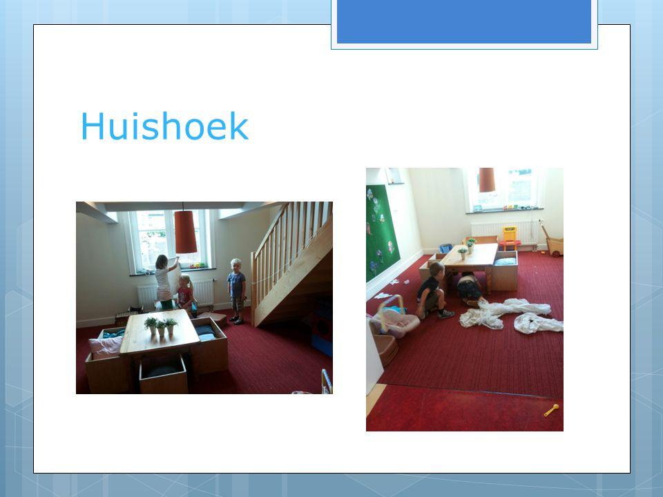 Huishoek Huishoek > Samenspel, realiteit, themahoek, rollenspel, sociale omgang, taal, rekenen