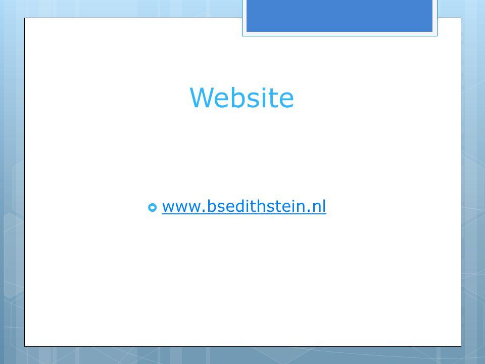 Website www.bsedithstein.nl