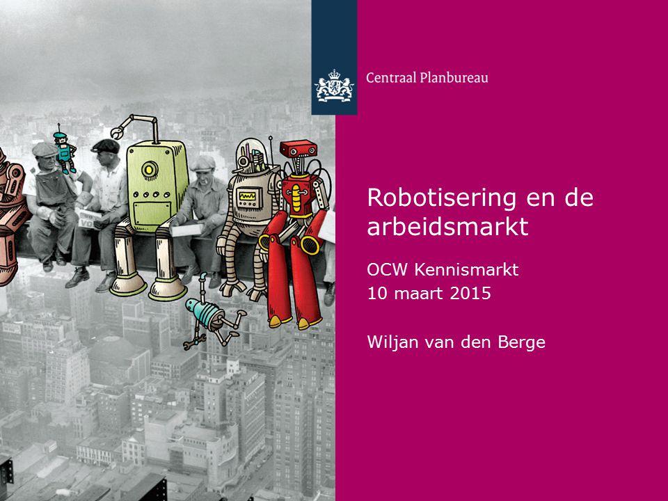 Robotisering en de arbeidsmarkt