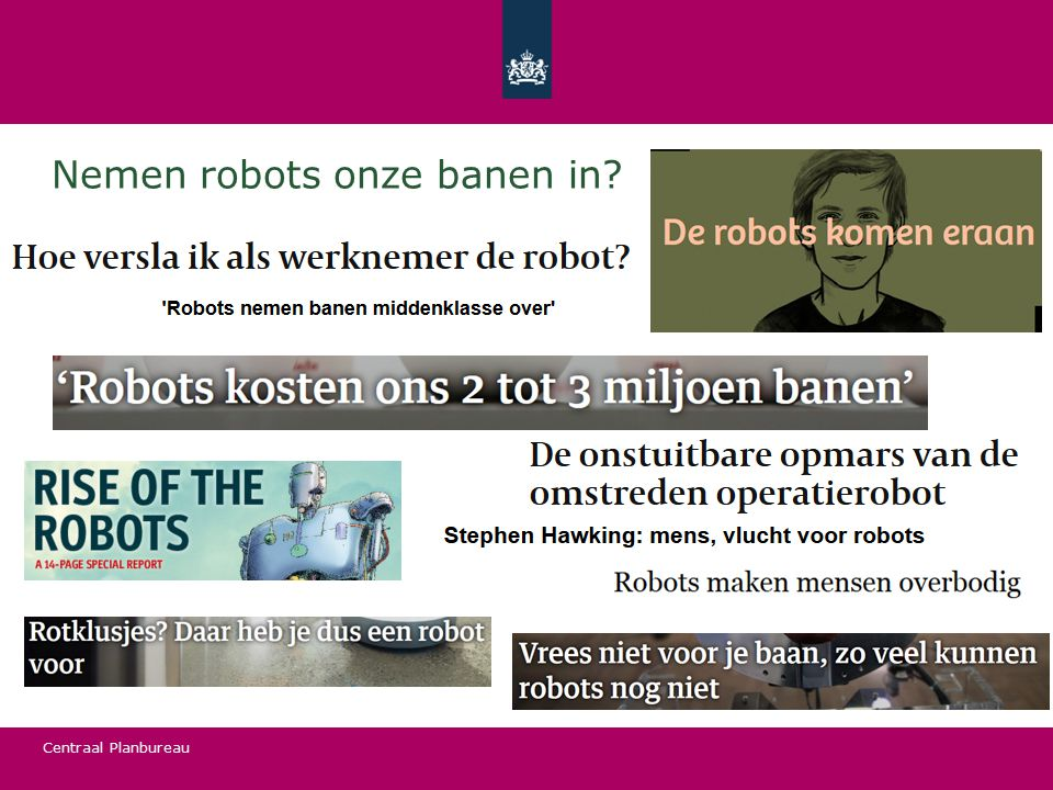 Nemen robots onze banen in