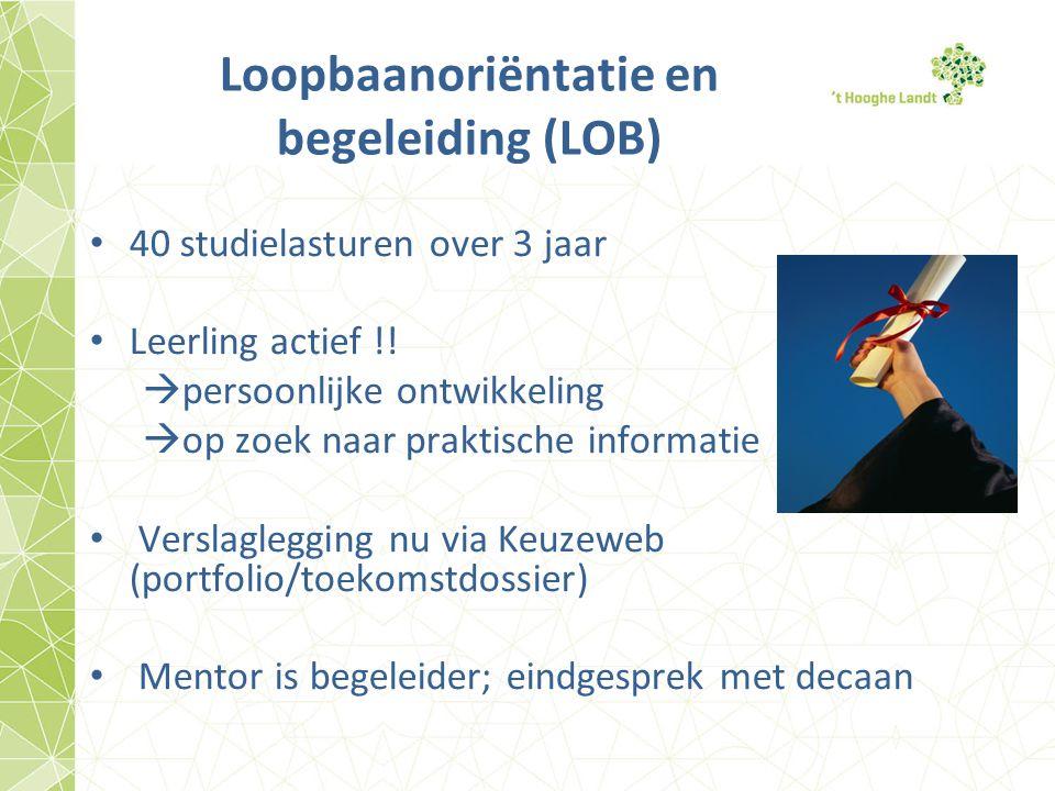 Loopbaanoriëntatie en begeleiding (LOB)