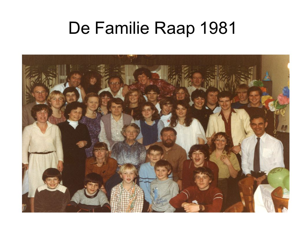 De Familie Raap 1981