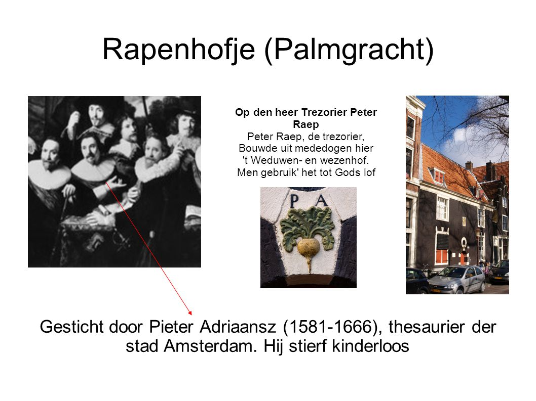 Rapenhofje (Palmgracht)