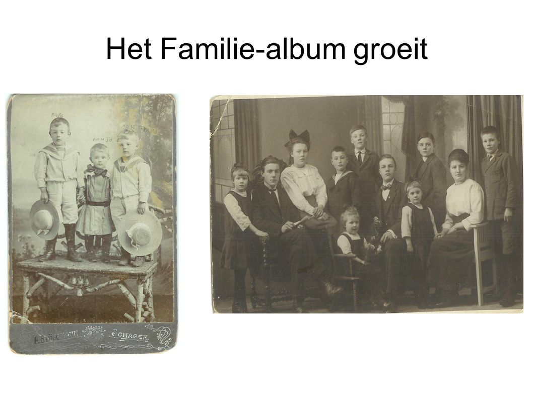 Het Familie-album groeit