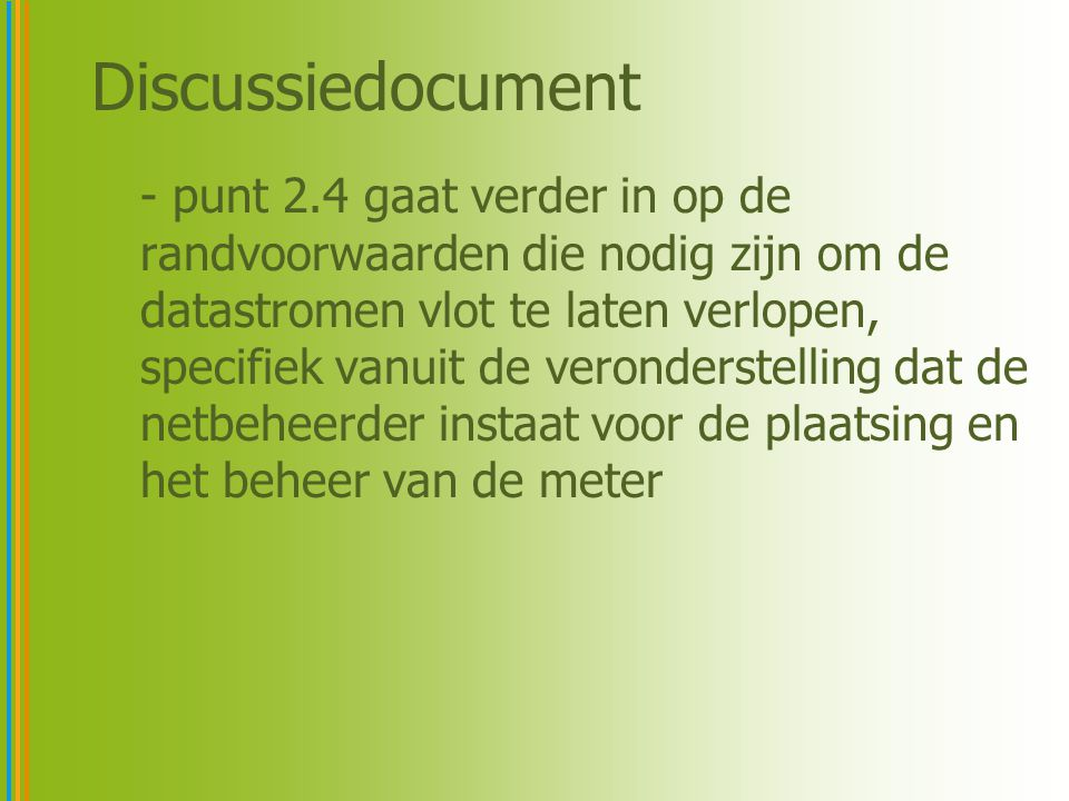 Discussiedocument