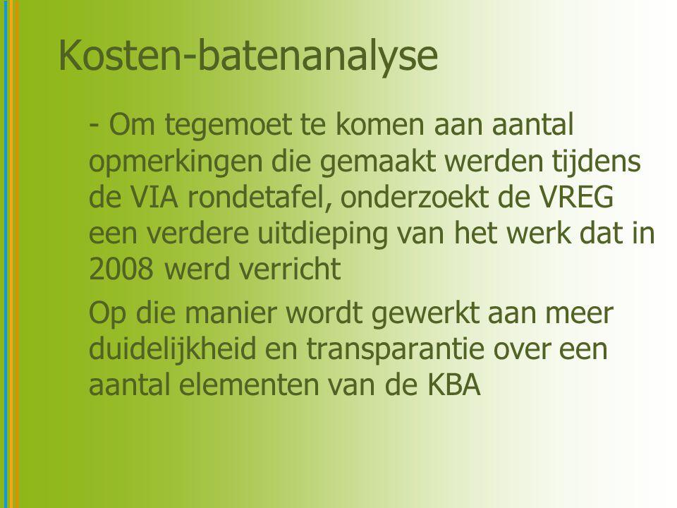 Kosten-batenanalyse