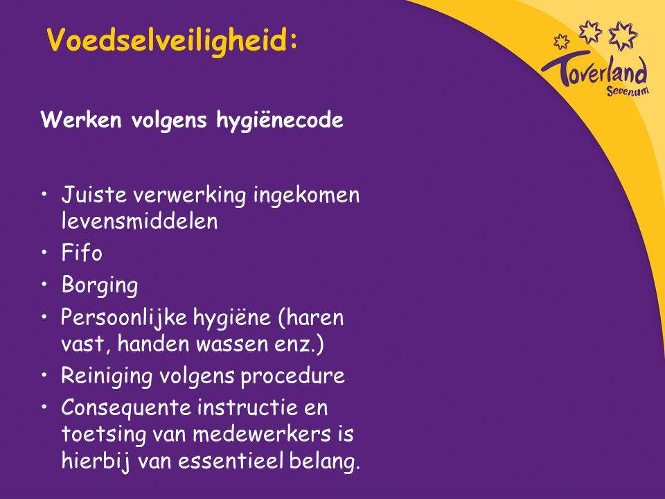 Voedselveiligheid: Werken volgens hygiënecode