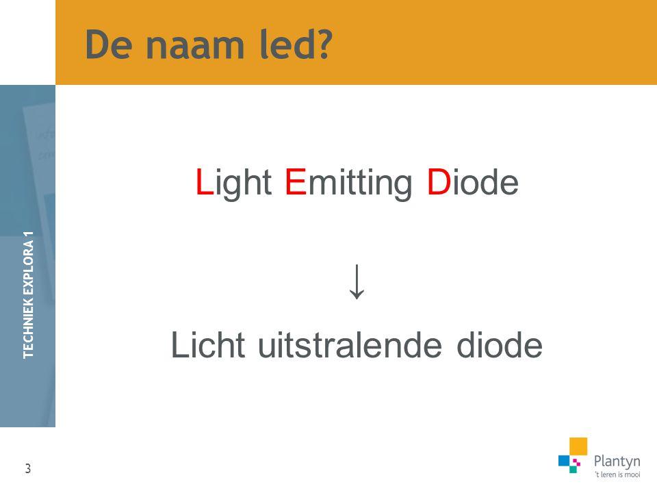 Licht uitstralende diode