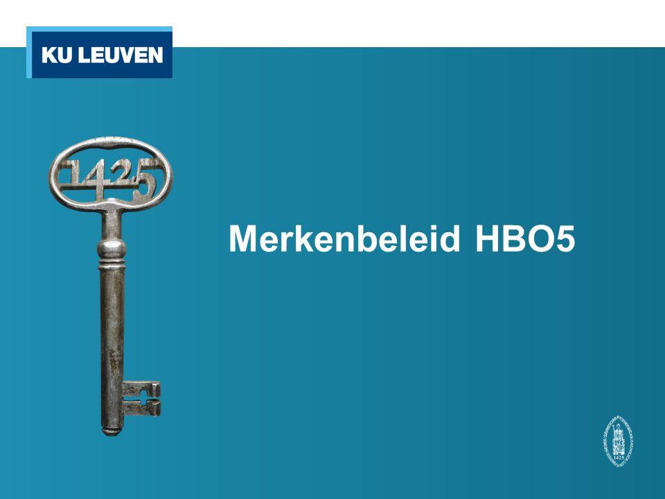 Merkenbeleid HBO5