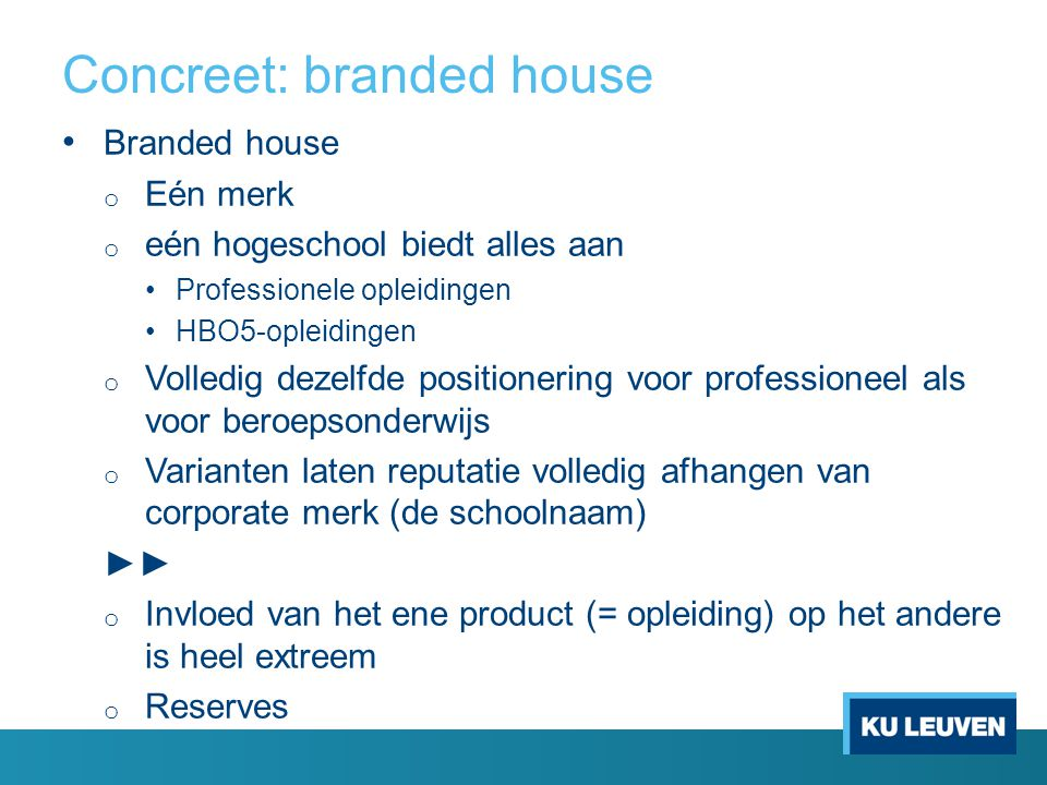 Concreet: branded house