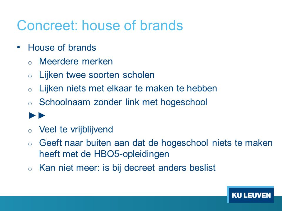 Concreet: house of brands