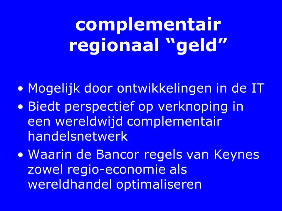 complementair regionaal geld