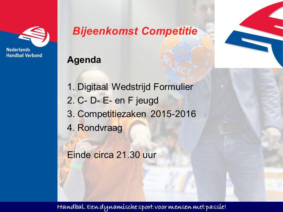 Bijeenkomst Competitie