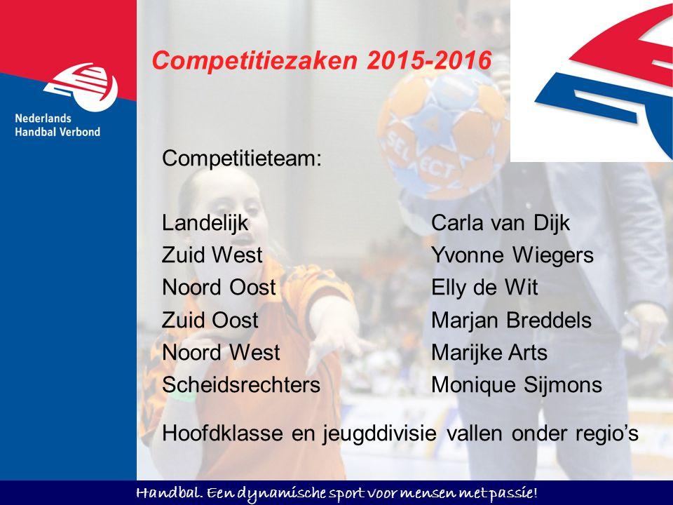 Competitiezaken 2015-2016 Competitieteam: Landelijk Carla van Dijk