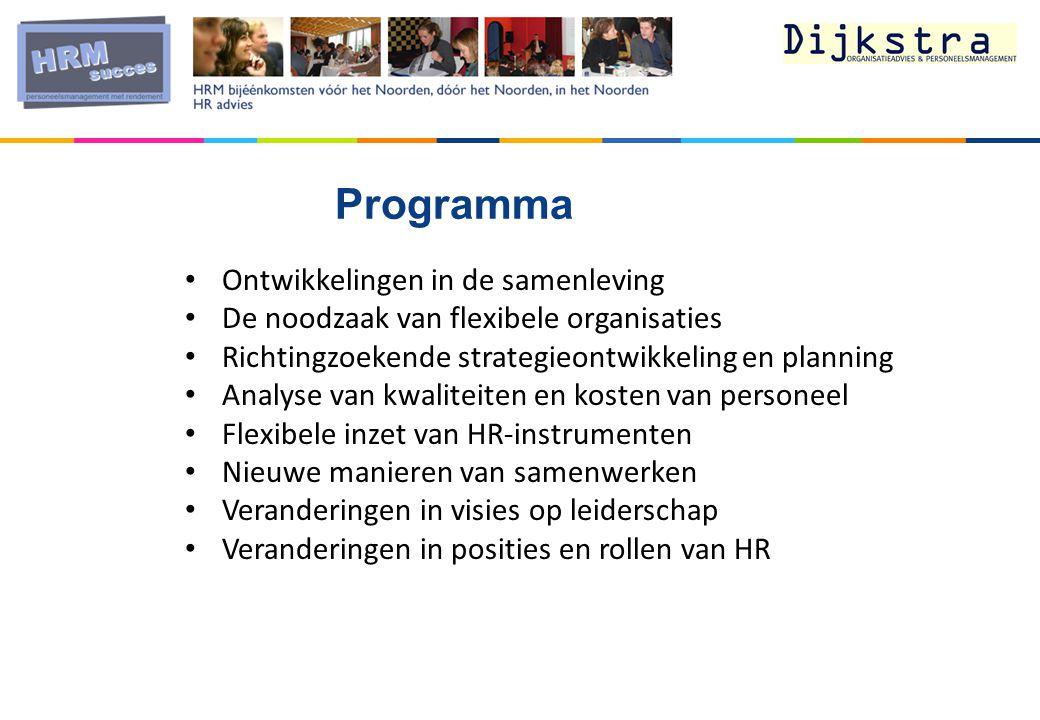 Programma Ontwikkelingen in de samenleving
