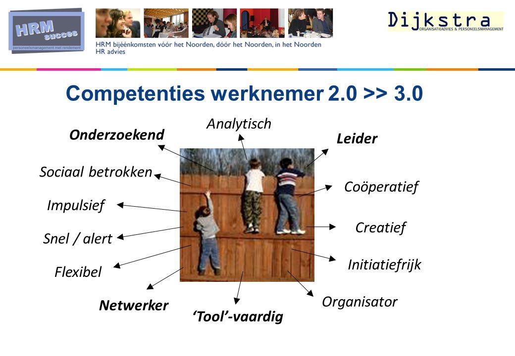 Competenties werknemer 2.0 >> 3.0