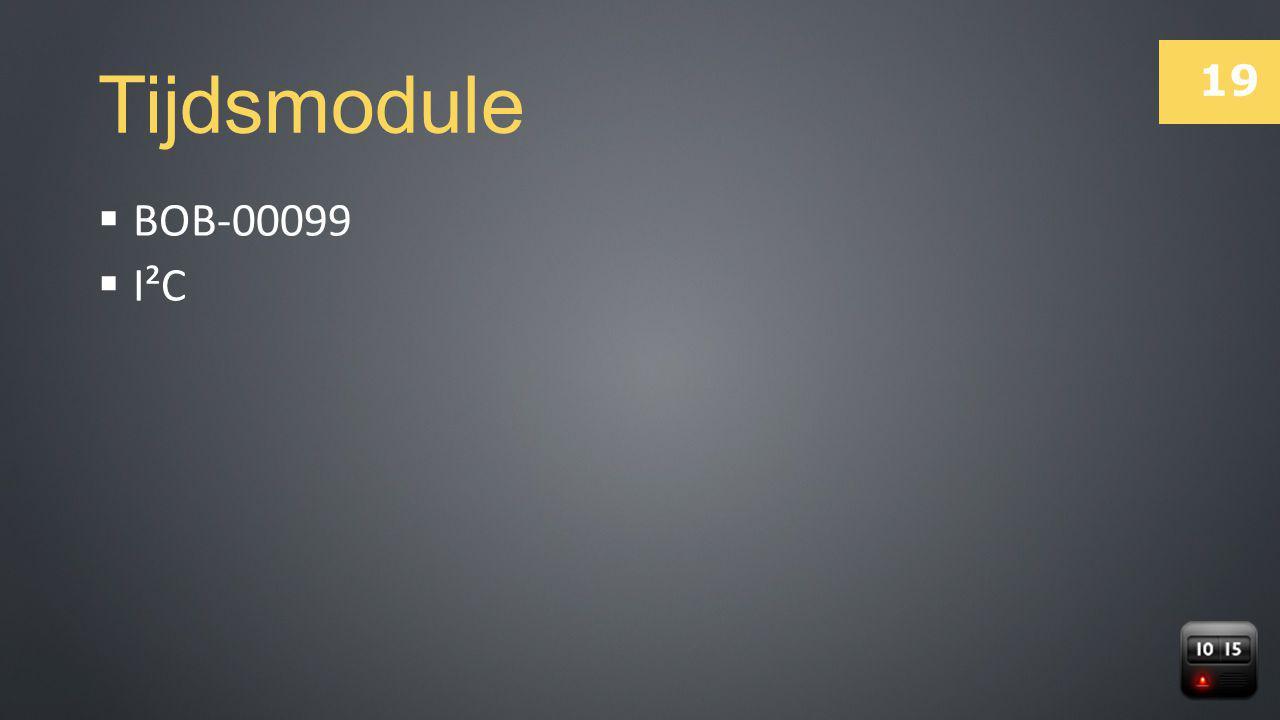Tijdsmodule BOB-00099 I²C