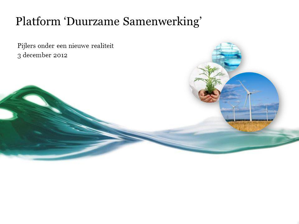 Platform 'Duurzame Samenwerking'