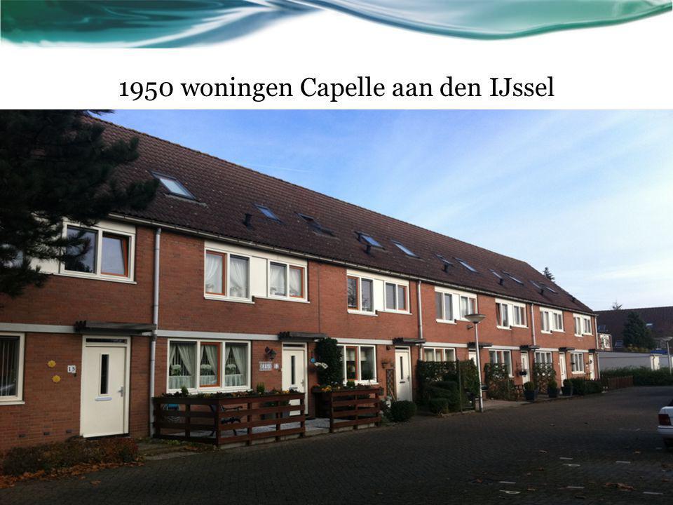 1950 woningen Capelle aan den IJssel